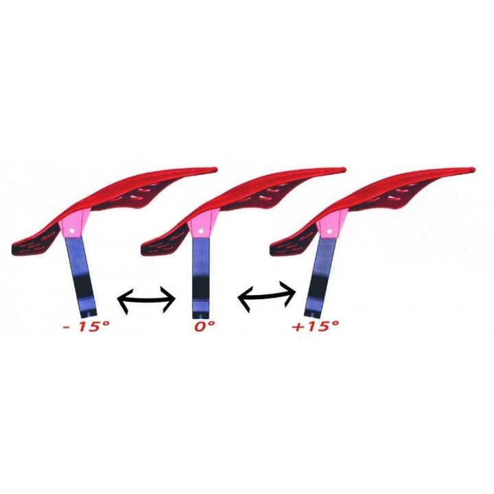 Защита рук для квадроцикла/снегохода красная ProGrip 5600 Red