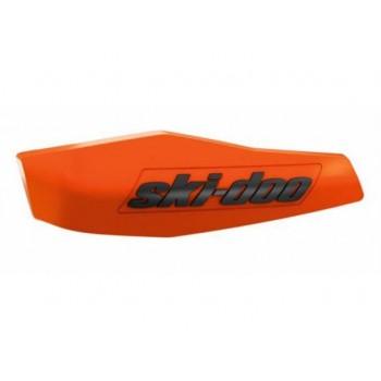 Оранжевые вставки в защиту рук снегохода Ski-Doo 860201345