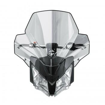 Оригинальное ультра высокое стекло снегохода 635мм Ski-Doo REV XM, REV XS 860200782 /860201185