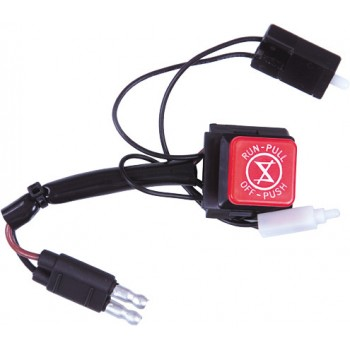 Кнопка аварийной остановки двигателя снегохода Polaris WIDETRAK LX 4110106, 4012269, 4013381, 4110159, 01-120-19, 27-0153