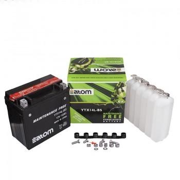 Аккумулятор ATOM YTX14L-BS (H-D)