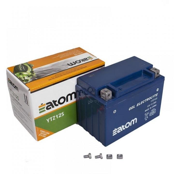 Аккумулятор ATOM YTZ12S