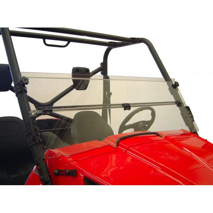Ветровое стекло низкое откидное квадроцикла Kawasaki Teryx (2010-2013) Direction2 TERYXWS2001