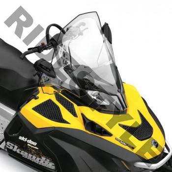 Ветровое стекло снегохода 62см BRP/Ski-Doo REV-XU /Skandic /EXPEDITION /TUNDRA 860200555 /517304287 /860201000 2мм 12-9868