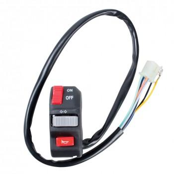 Пульт управления на руль квадроцикла универсальный Tusk Compact Control Switch With On/Off 1445080001