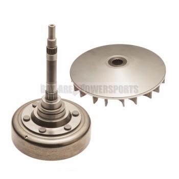 Колокол сцепления Yamaha 5KM-16611-10-00 + щека вариатора внутренняя 5KM-17611-00-00 Grizzly 660 /Rhino 660 03-08