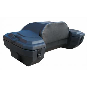 Кофр для квадроцикла задний жесткий со спинкой из кожи Quadrax EXTREME DELUXE 19-1110