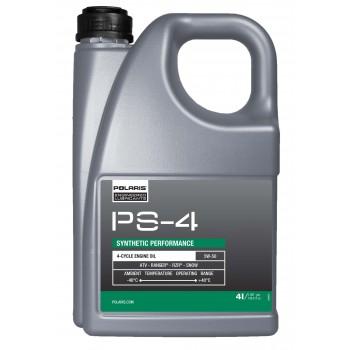 Масло оригинальное синтетическое моторное 4T Polaris PS4 Plus 5w50 4л 502120 /502485