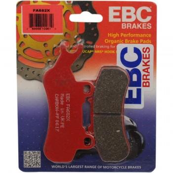 Тормозные колодки передние левые карбон Can-Am Maverick X3 / Defender / Traxter 715900386 EBC FA682X