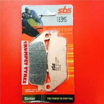 Тормозные колодки передние SBS 183MS