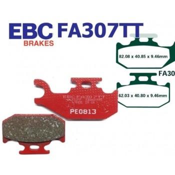 Тормозные колодки квадроцикла передние левые/задние BRP/CanAm 705600349/705600398 EBC FA307TT
