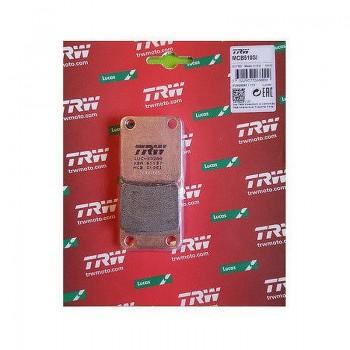 Тормозные колодки Ya 3GD-W0045-00-00 5LP-W0045-00-00 Kawasaki 43082-0043 Su 59300-42810 FA54 TRW mcb510si