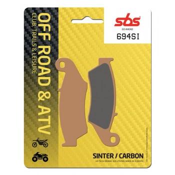 Тормозные колодки SBS, передние Sinter 694SI