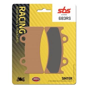 Тормозные колодки SBS, передние Sinter 683HS