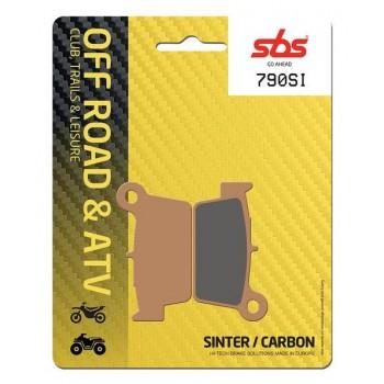 Тормозные колодки SBS, задние Sinter 790SI