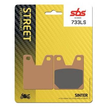 Тормозные колодки SBS, задние YZF R1 1000 1998 - 2001 Sinter 733LS