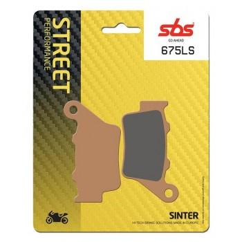 Тормозные колодки SBS, задние Sinter 675LS