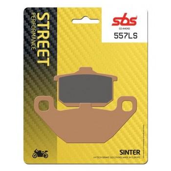 Тормозные колодки SBS, задние Sinter 557LS