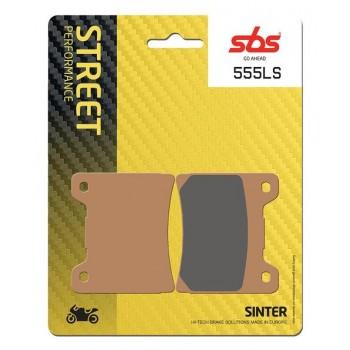 Тормозные колодки SBS, задние Yamaha Sinter 555LS
