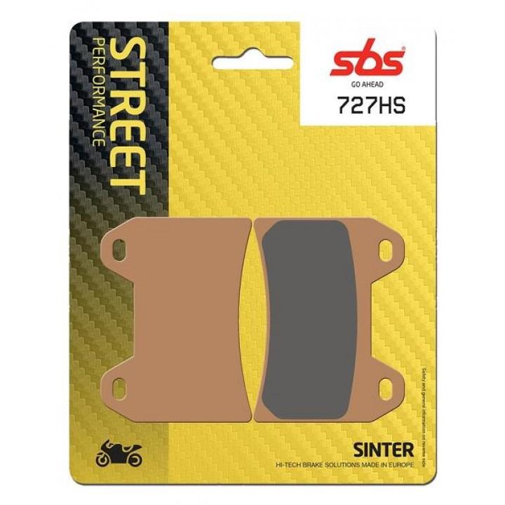 Тормозные колодки SBS 727HS