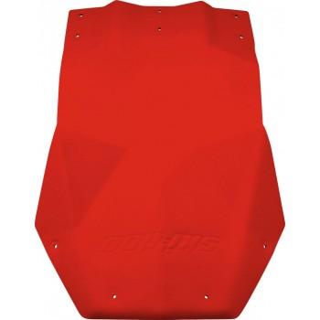 Красная защита днища снегохода Ski-Doo REV-XP 860200558