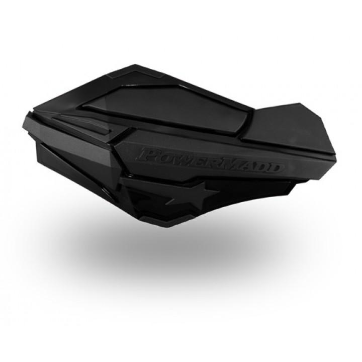 Защита рук квадроцикла /снегохода черные /черные Power Madd SENTINAL18-95188 /34410