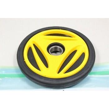 Ролик трака задний натяжной наружний желтый 180мм Ski-Doo MXZ /GTX /GSX /Elite /Legend 97+ 503191491 /503190800 /503190801 /503191491 /503190799 /503190231