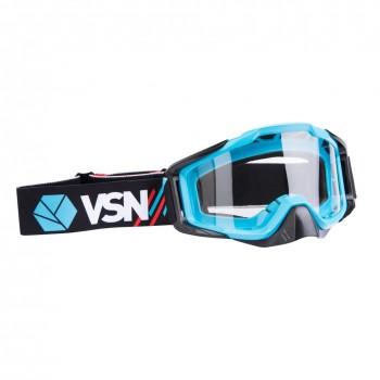 Маска для квадроцикла /кросса VSN Goggle Red/Black/Cyan HB-301-Red/Black/Cyn