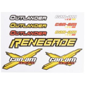 Комплект наклеек Can-Am Outlander / Renegade 704901481