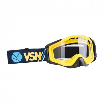 Маска для квадроцикла /кросса VSN Goggle Blue/Yellow/White HB301-Blu/Yell/Wht