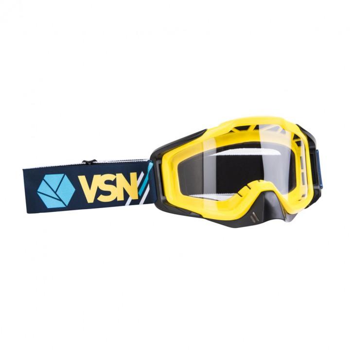 Маска для квадроцикла /кросса VSN Goggle Blue/Yellow/White HB301-Blu/Yell/Wht