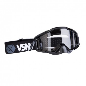 Маска для квадроцикла /кросса VSN Goggle Black/Grey/White HB-301-Black/Gry/Wht