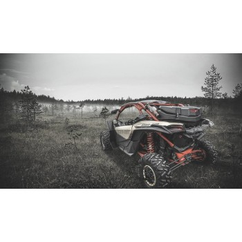 Кофр 80л для Can-Am G2 Outlander 2012+ /Maverick X3 2017 + 715004923 GKA TESSERACT GKA80G2X3