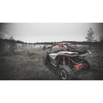 Кофр 80л для Can-Am G2 Outlander 2012+ /Maverick X3 2017 + 715004923 GKA TESSERACT GKA80G2X3