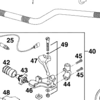 Рычажок KTM  58302050100