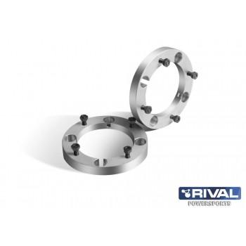 Проставки колесные  4*156 ЦО130 25мм, к-т 2 шт.  Rival S.5625.1