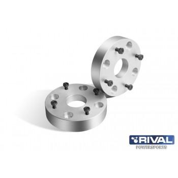 Проставки колесные  4*137 ЦО60 40мм, к-т 2 шт.  Rival S.3740.1