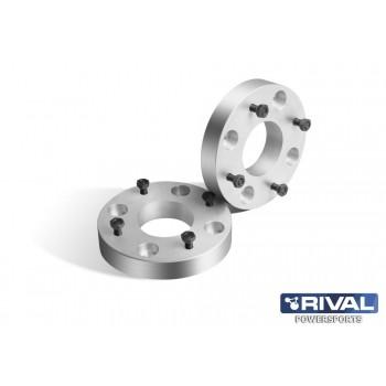 Проставки колесные  4*110 ЦО67 30мм, к-т 2 шт.  Rival S.1030.1