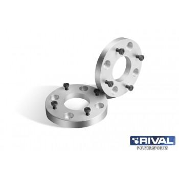 Проставки колесные  4*110 ЦО67 25мм, к-т 2 шт.  Rival S.1025.1