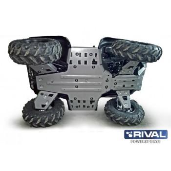 Защита днища для ATV YAMAHA Grizzly 700 2014-2015 Rival 444.7108.3
