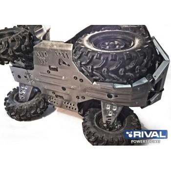 Защита днища для ATV SUZUKI Kingquad LT-A750/ LT-A500 2011-2018 Rival 444.5501.2