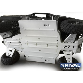 Защита днища для UTV POLARIS Ranger XP 900 / 1000 2011-2017 Rival 444.7430.1