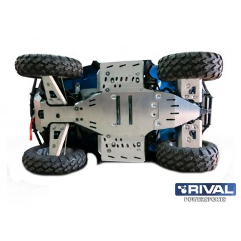 Защита днища для ATV POLARIS Sportsman touring 850 /550 efi 2011-2014 Rival 444.7401.4