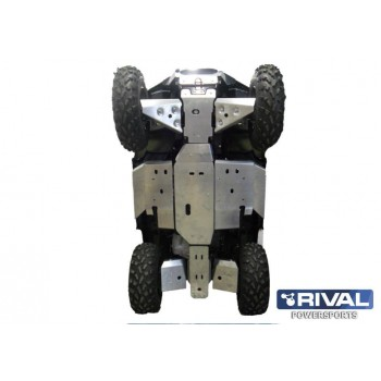 Защита днища для ATV POLARIS Sportsman touring 500 H.O. 2011-2013 Rival 444.7403.2