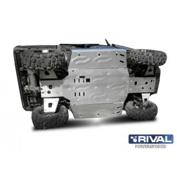 Защита днища для UTV CF Tracker 800 2013-2014 Rival 444.6821.2