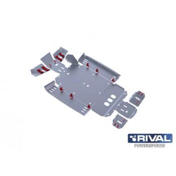 Защита днища для UTV CF Z6  2011- Rival 444.6801.1