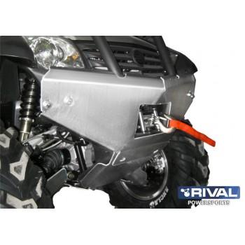 Бампер накладка CF X6/X5 2011- Rival 444.6823.2