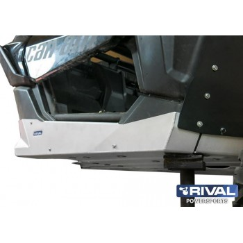 Защита порогов BRP Maverick X3 (Turbo R, X DS Turbo R (2016-, X RS Turbo 2016-2018) 2016- Rival 444.7251.1