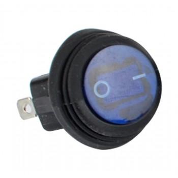 Кнопка синяя 2 положения влагостойкая кнопка /тумблер 20мм TSK LTS-034