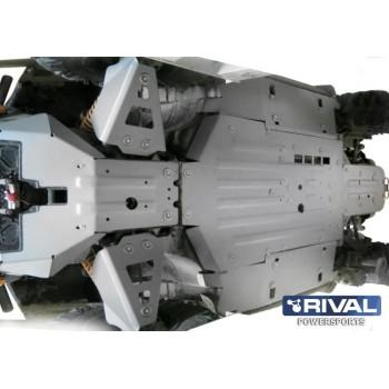 Защита днища для UTV BRP Commander 1000 2011-2014 Rival 444.7204.2